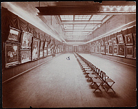 0163823 © Granger - Historical Picture ArchiveNEW YORK: ART GALLERY.   A painting exhibit at an art gallery at 215 West 57th Street, New York City, 1905.