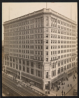 0163898 © Granger - Historical Picture ArchiveMARBRIDGE BUILDING, 1908.   The Marbridge Building at Sixth Avenue between 34th and 35th Streets, New York City. Photograph, 1908.
