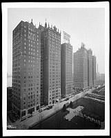 0164011 © Granger - Historical Picture ArchiveNEW YORK: TUDOR CITY.   Tudor City, an apartment complex on 1st Avenue between 40th and 44th Street, New York City, 1929.