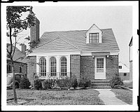 0164071 © Granger - Historical Picture ArchiveQUEENS: HOUSE, c1940.   House at 75-42 189th Street in Jamaica, Queens, New York. Photograph, c1940.