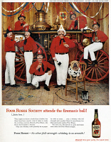 0433891 © Granger - Historical Picture ArchiveAD: WHISKEY, 1959.   American advertisement for Four Roses Whiskey. Photograph, 1959.