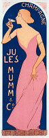 0527842 © Granger - Historical Picture ArchivePOSTER: CHAMPAGNE, 1895.   Poster advertising Mumm & Co. champagne. Lithograph after Maurice Realier-Dumas, 1895.