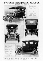 0005192 © Granger - Historical Picture ArchiveAUTOMOBILE ADVERTISEMENT.   Advertisement for the Ford Model T, 1912.
