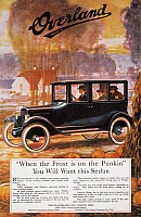 0061232 © Granger - Historical Picture ArchiveAUTOMOBILE AD, 1920.   Willys-Overland automobile advertisement from an American magazine, 1920.