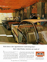 0409946 © Granger - Historical Picture ArchiveAD: PONTIAC, 1961.   American advertisement for interior options in Pontiac automobiles, 1961.