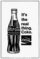 0128869 © Granger - Historical Picture ArchiveCOCA-COLA AD, c1973.   American magazine advertisement for Coca-Cola, c1973.