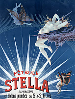 0409780 © Granger - Historical Picture ArchiveAD: PETROLE STELLA, 1897.   French advertisement for Pétrole Stella. Lithograph by Henri Gray, 1897.