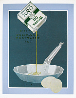 0087663 © Granger - Historical Picture ArchiveWESSON OIL AD, 1921.   American magazine advertisement, 1921, for Wesson cooking oil by the Southern Cotton Oil Company.