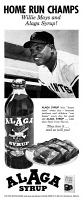 0433310 © Granger - Historical Picture ArchiveAD: ALAGA SYRUP, 1966.   American advertisement for Alaga Syrup. Photograph, 1966.