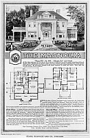 0176306 © Granger - Historical Picture ArchiveAD: SEARS HOME, 1918.   Advertisement from Sears, Roebuck and Company for 'The Magnolia,' a ready-to-assemble house kit, 1918.