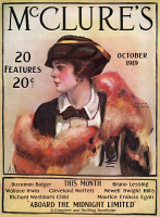 0409823 © Granger - Historical Picture ArchiveMAGAZINE: McCLURE'S, 1919.   Front cover of McClure's Magazine, October 1919.