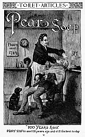 0039325 © Granger - Historical Picture ArchivePEARS' SOAP AD, 1888.   American magazine advertisement, 1888.