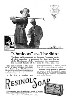 0409717 © Granger - Historical Picture ArchiveAD: RESINOL SOAP, 1919.   American advertisement for Resinol Soap, 1919.