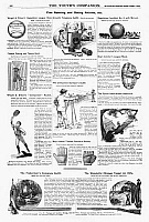 0266592 © Granger - Historical Picture ArchiveAD: SPORTING GOODS, 1890.   American magazine advertisements for sporting goods, 1890.