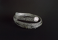 0269931 © Granger - Historical Picture ArchiveARCHAEOLOGY.   Filigree bracelet, from Campi Bisenzio (Tuscany). Etruscan civilization, 8th Century BC. Full Credit: DEA / G. NIMATALLAH / Granger, NYC -- All rights reserved.