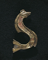 0271169 © Granger - Historical Picture ArchiveARCHAEOLOGY.   Fibula in the shape of a serpent. Roman Civilization, 2nd-3rd Century. Full Credit: DEA / G. DAGLI ORTI / Granger, NYC -- All rights reserved.