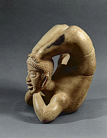 0274058 © Granger - Historical Picture ArchiveARCHAEOLOGY.   Tlatilco civilization, Mexico, 6th century b.C. Ceramic vessel known as 'the contortionist'. Full Credit: DEA / G. DAGLI ORTI / Granger, NYC -- All rights reserved.
