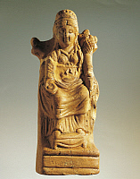 0275850 © Granger - Historical Picture ArchiveARCHAEOLOGY.   Fictile statuette representing the goddess of fertility 1st-3rd Century A.D., Roman art. Full Credit: DEA / A. DAGLI ORTI / Granger, NYC -- All rights reserved.