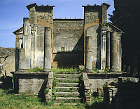 0281429 © Granger - Historical Picture ArchiveARCHAEOLOGY.   Temple of Isis, Pompeii (UNESCO World Heritage List, 1997), Campania. Roman Civilization, 1st Century. Full Credit: DEA / G. DAGLI ORTI / Granger, NYC -- All rights