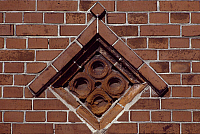 0282869 © Granger - Historical Picture ArchiveART & ARCHITECTURE.   Architectural detail from Fanoe. Denmark. Full Credit: DEA / S. VANNINI / Granger, NYC -- All righ