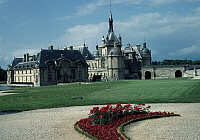 0283181 © Granger - Historical Picture ArchiveART & ARCHITECTURE.   Chateau de Chantilly, France. Full Credit: DEA / C. SAPPA / Granger, NYC -- All rights reserved.