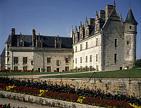 0283929 © Granger - Historical Picture ArchiveART & ARCHITECTURE.   Chateau d'Amboise, Loire Valley (UNESCO World Heritage List, 2000). France, 13th century. Full Credit: DEA / G. DAGLI ORTI / Granger, NYC -- All rights reserv