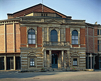 0283957 © Granger - Historical Picture ArchiveART & ARCHITECTURE.   Bayreuth Festspielhaus, an opera house located in the northern of Bayreuth city, Bavaria. Germany, 19th century. Full Credit: DEA / A. DAGLI ORTI / Granger, NYC -- All Rights Reserved.