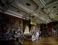 0284328 © Granger - Historical Picture ArchiveART & ARCHITECTURE.   Winter room built during King Christian IV's reign, Frederiksborg Castle, Hillerod, by the Steenwinkel father and son architects. Denmark, 17th century. Full Credit: DEA / A. DAGLI ORTI / Granger, NYC -- All rights res