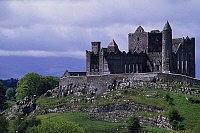 0285125 © Granger - Historical Picture ArchiveART & ARCHITECTURE.   The Rock of Cashel, County Tipperary, Ireland. Full Credit: DEA / W. BUSS / Granger, NYC -- All ri.