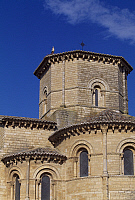 0285411 © Granger - Historical Picture ArchiveART & ARCHITECTURE.   Apse from the Church of St Martin de Tours, Fromista, Castile and Leon. Spain, 11th century. Full Credit: DEA / W. BUSS / Granger, NYC -- All rights reserved.