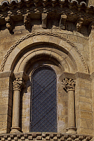 0285413 © Granger - Historical Picture ArchiveART & ARCHITECTURE.   Apse from the Church of St Martin de Tours, Fromista, Castile and Leon. Spain, 11th century. Full Credit: DEA / W. BUSS / Granger, NYC -- All rights reserved.