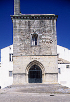 0285877 © Granger - Historical Picture ArchiveART & ARCHITECTURE.   Faro Cathedral with Gothic foundations and Renaissance interior, rebuilt after the earthquake in 1755. Portugal. Full Credit: DEA / W. BUSS / Granger, NYC -- All Rights Reserved.