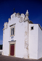0285881 © Granger - Historical Picture ArchiveART & ARCHITECTURE.   The facade of a church in Albufeira, Portugal. Full Credit: DEA / W. BUSS / Granger, NYC -- All ri.