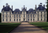 0286688 © Granger - Historical Picture ArchiveART & ARCHITECTURE.   Facade of Chateau de Cheverny, 1624-1630. France, 17th century. Full Credit: DEA / C. SAPPA / Granger, NYC -- All Rights Reserved.