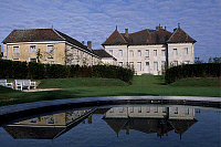 0287377 © Granger - Historical Picture ArchiveART & ARCHITECTURE.   View of Chateau de Moncley, 1778-1790, by Claude Bertrand (1734-1797), Franca Contea. France, 18th century. Full Credit: DEA / C. SAPPA / Granger, NYC -- All Rights Reserved.