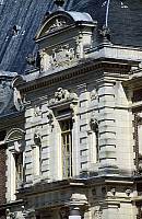 0287653 © Granger - Historical Picture ArchiveART & ARCHITECTURE.   Chateau de Villersexel, Franche-Comte. Detail. France, 19th century. Full Credit: DEA / S. VANNINI / Granger, NYC -- All rights reserved.