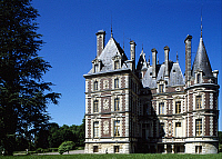 0287656 © Granger - Historical Picture ArchiveART & ARCHITECTURE.   View of Chateau de Villersexel, Franche-Comte. France, 19th century. Full Credit: DEA / S. VANNINI / Granger, NYC -- All rights reserved.