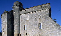 0287995 © Granger - Historical Picture ArchiveART & ARCHITECTURE.   View of Chateau de Flamarens, Midi-Pyrenees. France, 13th-16th century. Full Credit: DEA / C. SAPPA / Granger, NYC -- All rights reserved.