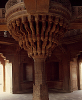 0289925 © Granger - Historical Picture ArchiveASIAN ART.   Diwan-I-Khas or Hall of Private Audience in Fatehpur Sikri, India. Indian civilization, Moghol architecture. Full Credit: DEA / G. NIMATALLAH / Granger, NYC -- All rig