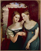 0290976 © Granger - Historical Picture ArchiveDECORATIVE ARTS.   Karl Begas or Carl Joseph Begas (1794-1854), Hafeland Sisters. Full Credit: DEA PICTURE LIBRARY / Granger, NYC -- All Rights Reserved.