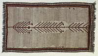 0292839 © Granger - Historical Picture ArchiveDECORATIVE ARTS.   Rugs and Carpets: Iran - Fars - 20th century. Gabbeh carpet, used as a pallet by Qashqai nomads. Full Credit: DEA PICTURE LIBRARY / Granger, NYC -- All rights re