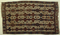 0292872 © Granger - Historical Picture ArchiveDECORATIVE ARTS.   Rugs and Carpets: Turkey - 19th century. Kilim carpet, weaved by Yuruk nomads coming from Fethiye. Full Credit: DEA PICTURE LIBRARY / Granger, NYC -- All rights