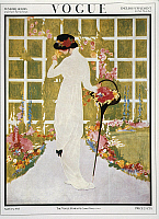 0292958 © Granger - Historical Picture ArchiveDECORATIVE ARTS.   Fashion, 20th century - Cover of Vogue of May 15, 1913. Full Credit: DEA PICTURE LIBRARY / Granger, NYC -- All Rights Reserved.