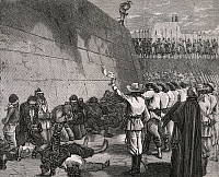 0298755 © Granger - Historical Picture ArchiveHISTORY.   Virginius prisoners being shot in Santiago, illustration from L'Universelle of December 24, 1873. Cuba, 19th century. Full Credit: DEA PICTURE LIBRARY / Granger, NYC -- All Rights Reserved.