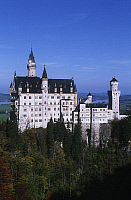 0299295 © Granger - Historical Picture ArchiveHISTORY.   Germany, Bavaria, Neuschwanstein Castle (Schloss Neuschwanstein) Architecture, Neuschwanstein Castle royal palace in Bavarian Alps, built for Louis II of Bavaria in 19th century. Full Credit: DEA / W. BUSS / Granger, NYC -- All Rights Reserved.