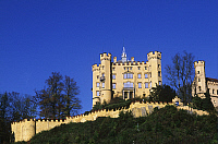 0299298 © Granger - Historical Picture ArchiveHISTORY.   Germany - Bavaria (Bayern) - Near Fussen - Hohenschwangau. The castle of Ludwig II. Full Credit: DEA / W. BUSS / Granger, NYC -- All rights reserved.