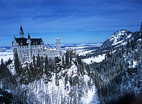 0300000 © Granger - Historical Picture ArchiveHISTORY.   Germany, Bavaria, Surroundings of Füssen, Neuschwanstein castle Architecture. Full Credit: DEA / M. SANTINI / Granger, NYC -- All rights reserved.