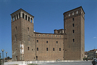 0300017 © Granger - Historical Picture ArchiveHISTORY.   Italy, Piedmont region, Principality of Achaea castle of Fossano Architecture. Full Credit: DEA / C. SAPPA / Granger, NYC -- All rights reserved.