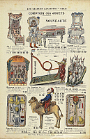 0300406 © Granger - Historical Picture ArchiveILLUSTRATIONS & POSTERS.   France, 20th century. Comptoir des jouets, sale toy catalog of the Galeries Lafayette, 1904. Full Credit: DEA PICTURE LIBRARY / Granger, NYC -- All right
