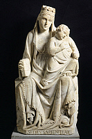 0300970 © Granger - Historical Picture ArchiveFINE ART.   Madonna and Child, 1332, by Tino di Camaino (ca 1280-ca 1337). Full Credit: DEA / G. NIMATALLAH / Granger, NYC -- All Rights Reserved.